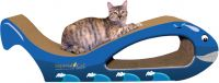 Giant Whale Cat Scratcher [Blue}
