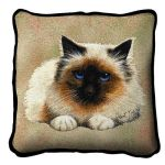 Birman Cat Pillow